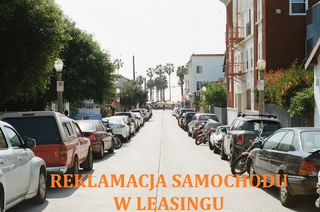 reklamacja leasing samochód rękojmia