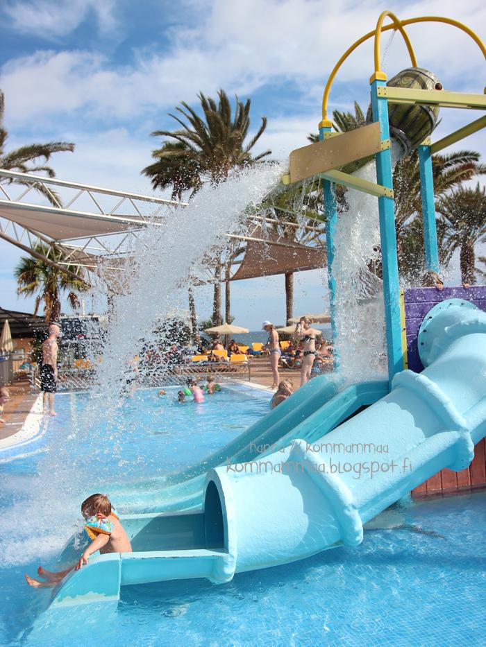 gran canaria bahia feliz playa feliz hotel orquidea uima-allas tui finnmatkat perheloma vesiliukumäki