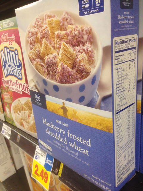 Blueberry Frosted Shredded Wheat - Kroger