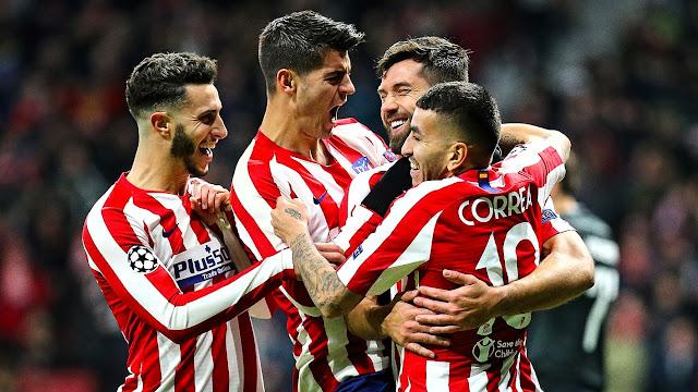 Atlético Madrid vs Lokomotiv Moskva Highlights