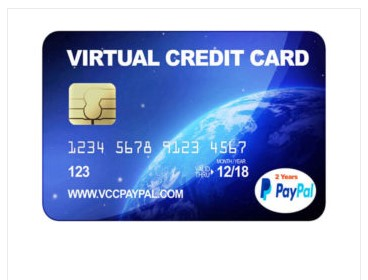 Jual VCC Paypal 2 Tahun