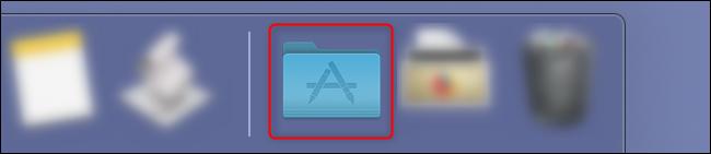مجلد تطبيقات macOS