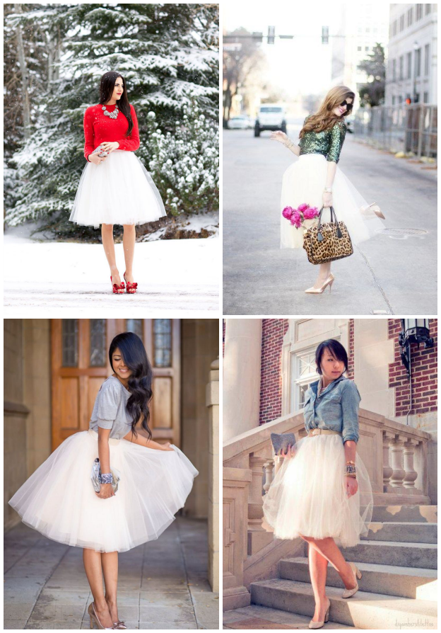 Inspiration, Tanvii.com, Tulle Skirts