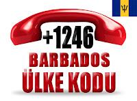 +1 246 Barbados ülke telefon kodu