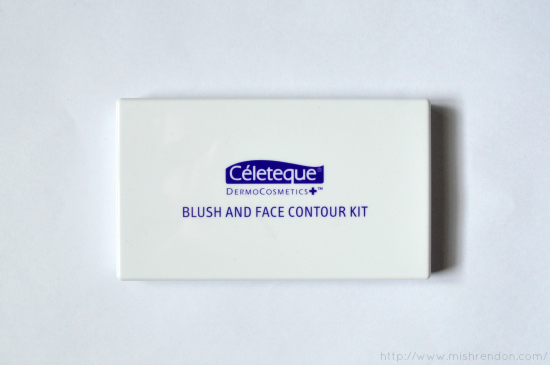 Celeteque DermoCosmetics (Swatches + First Impression) Blush and Face Contour Kit