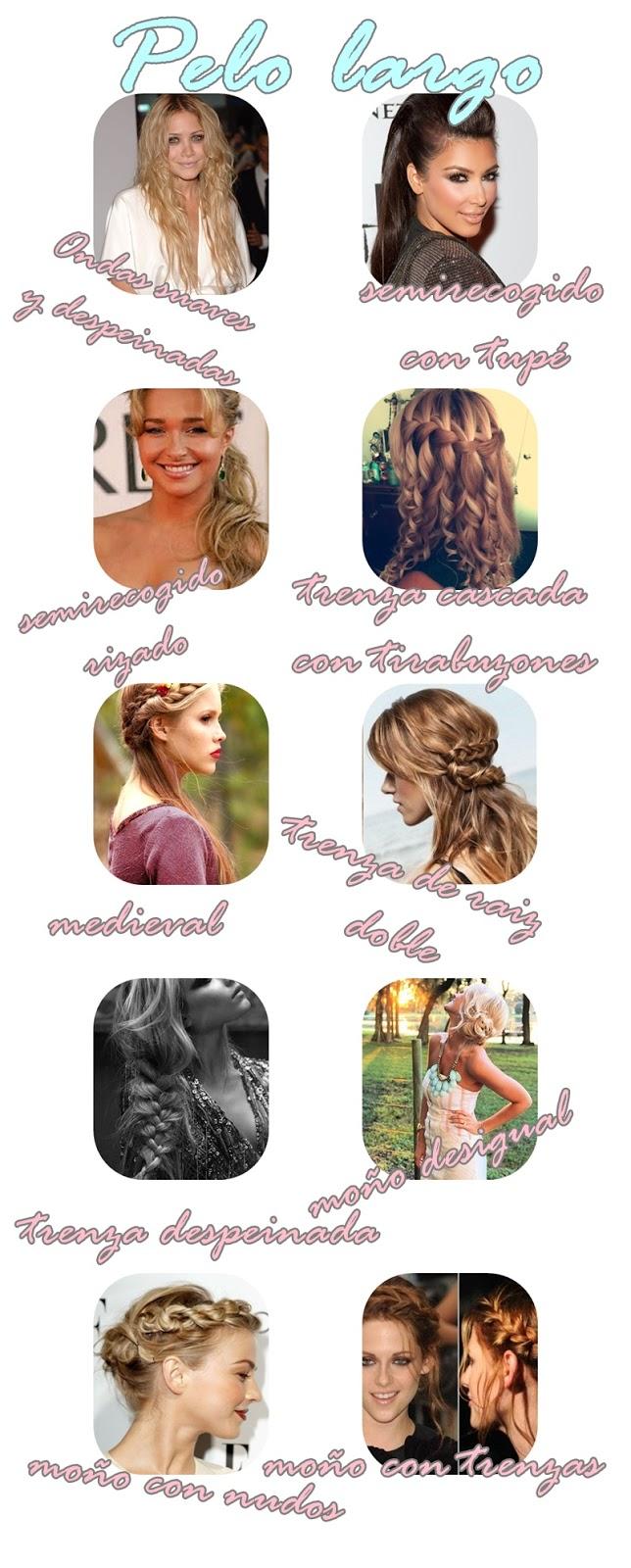 Súper fácil peinados nochebuena Imagen De Cortes De Pelo Tendencias - Orchid style: peinados nochevieja, nochebuena, fiestas ...