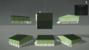 Arma3用スウェーデンの建物MODの弾薬庫