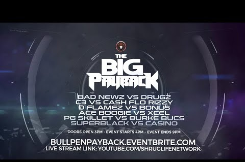 "Bullpen Battle League Announce ""The Big Payback"" Event"