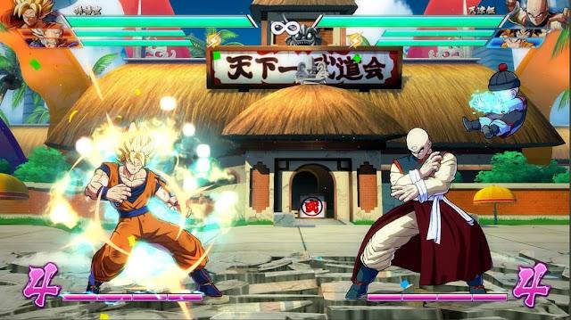 Imagem do Dragon Ball FighterZ