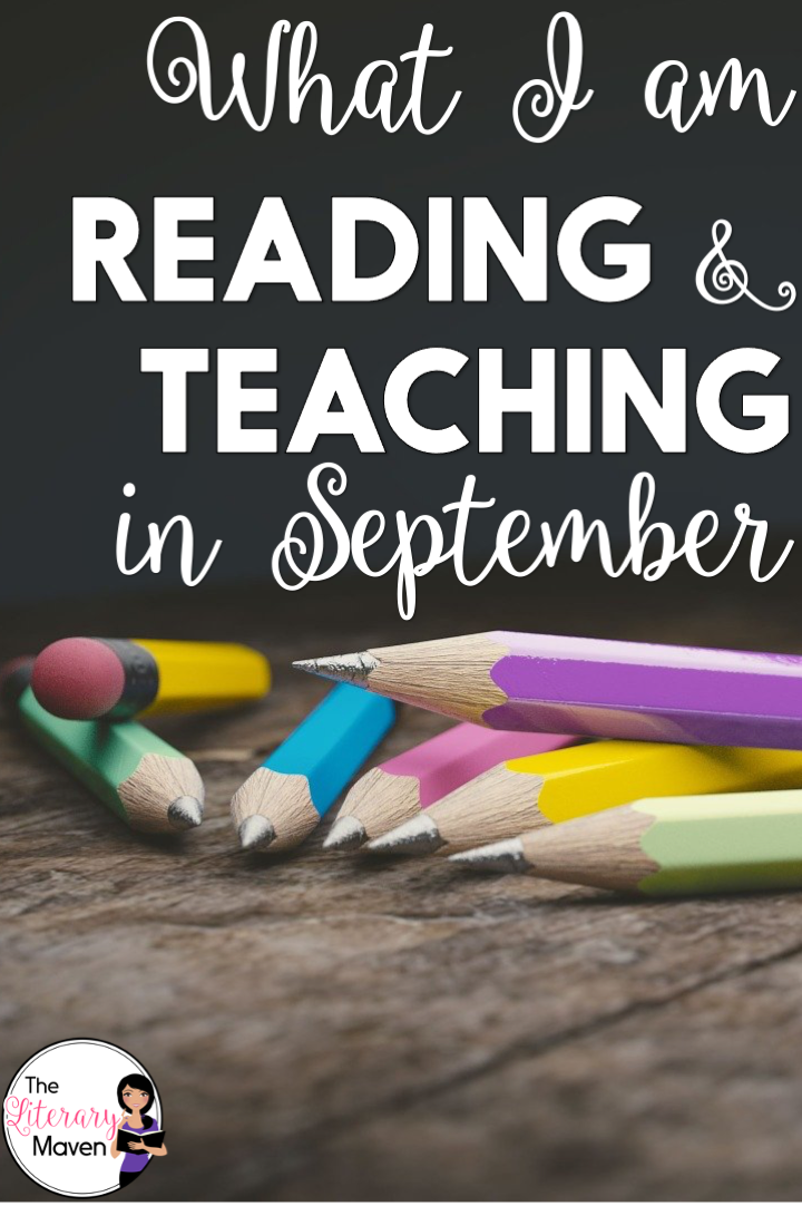 I'm back to school, getting to know my students, and getting books in their hands. Read on for what I'll be teaching and reading in September.
