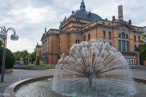 Teatro nacional de Oslo. Noruega