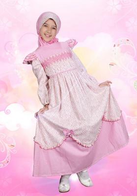 Model Baju Lebaran Buat Anak Perempuan