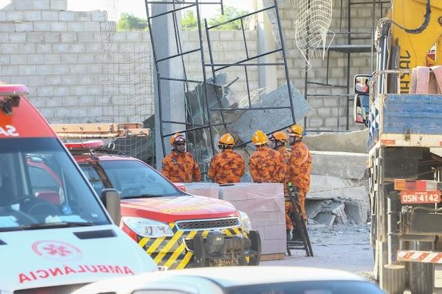Duas pessoas morrem e uma fica ferida após desabamento em obra de supermercado em Pacajus