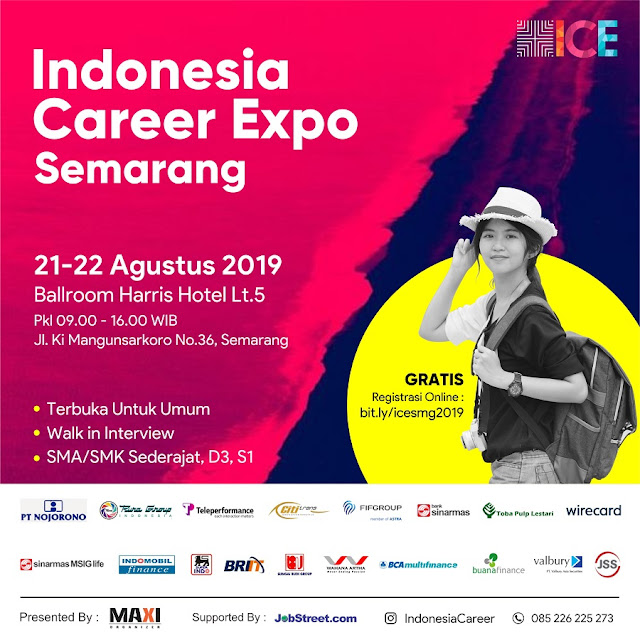 Job Fair Kota Semarang Terbaru