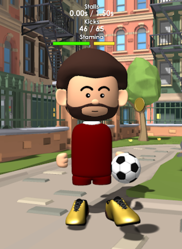 The Real Juggle Pro Freestyle Soccer v1.3.5 MOD Para Hileli Apk