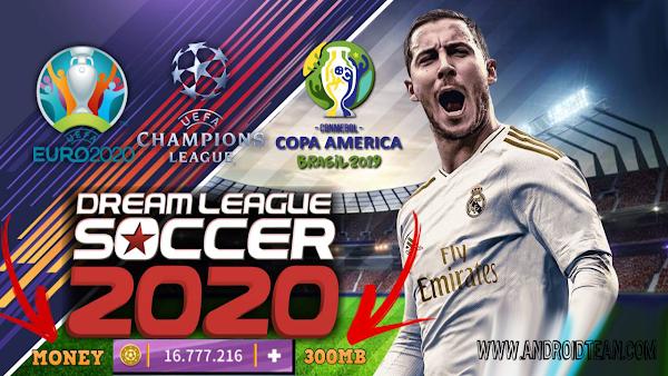 Dream League Soccer 2020 Mod APK+OBB+Data Money Update