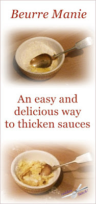 easy way to thicken sauces