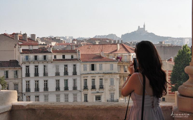 La belle vue sur Marseille