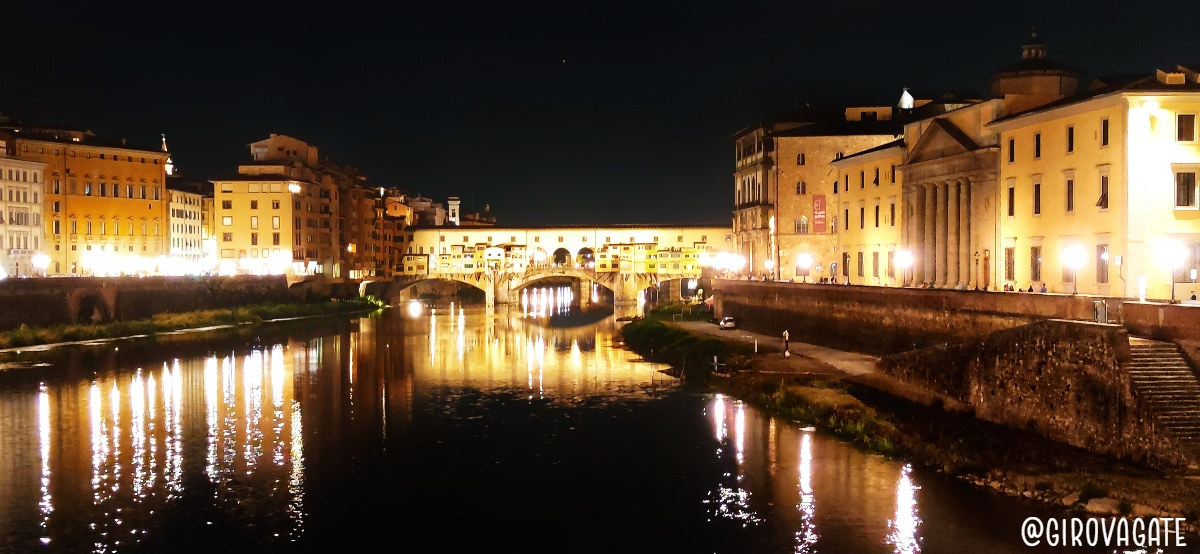 Ponte Vecchio Firenze di notte