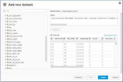 SAP HANA Historical Data in SAP DB Control Center