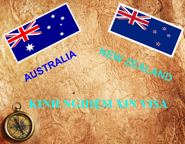 KINH NGHIỆM XIN VISA AUSTRALIA & NEW ZEALAND ONLINE 11.2019