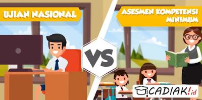 Ketahui Perbedaan Ujian Nasional Dan Asesmen Nasional