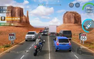 تحميل لعبة Moto Traffic Race 2 مهكرة للاندرويد