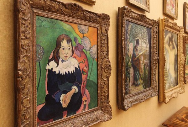 The Barnes Foundation Moving Masterpieces An Interior
