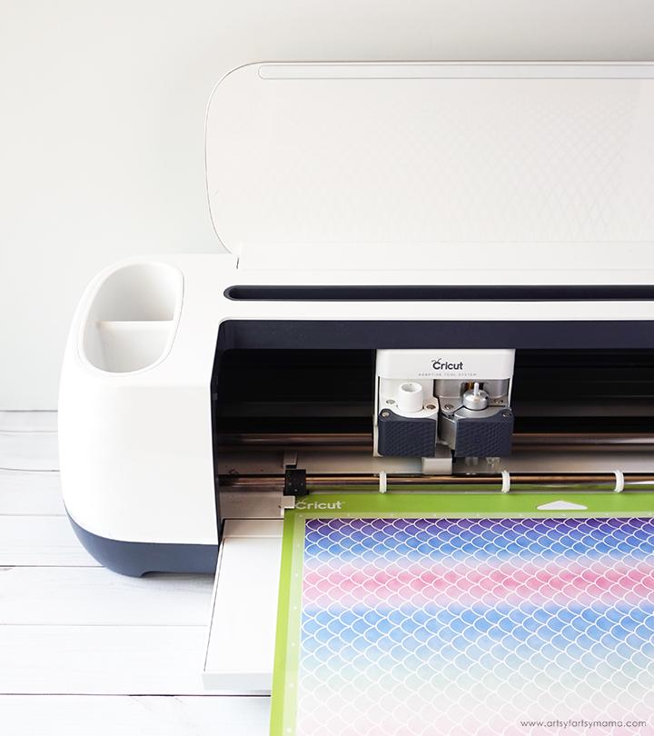 Cricut Maker Machine cutting Cricut Infusible Ink Transfer Sheet