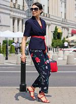 spodnie w kwiaty stylizacje