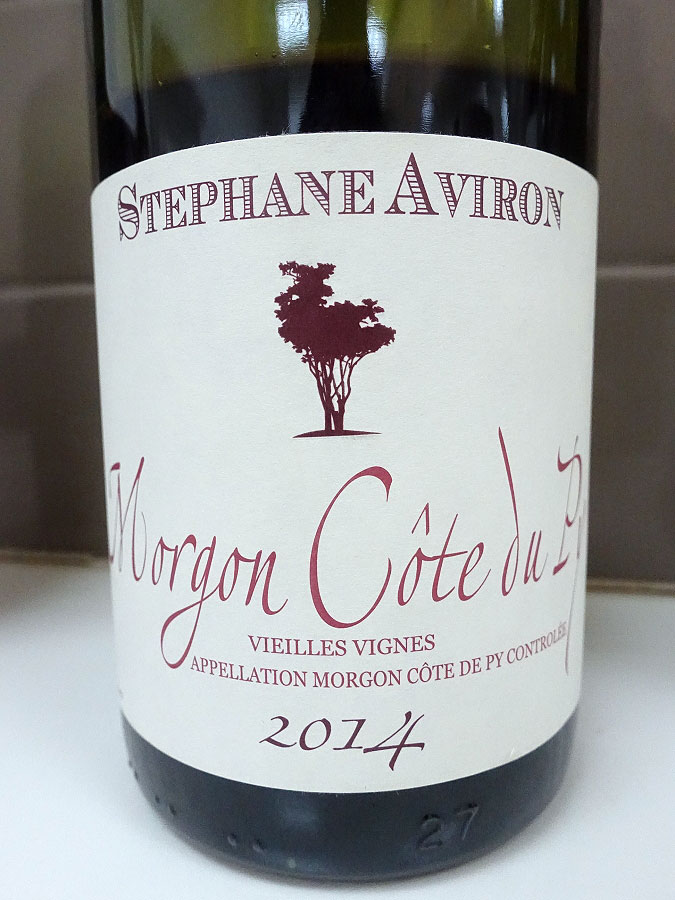 Stéphane Aviron Vieilles Vignes Morgon Côte du Py 2014 (90+ pts)
