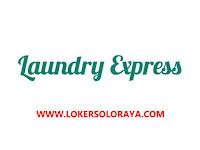 Lowongan Kerja Solo Staff Produksi di Laundry Express