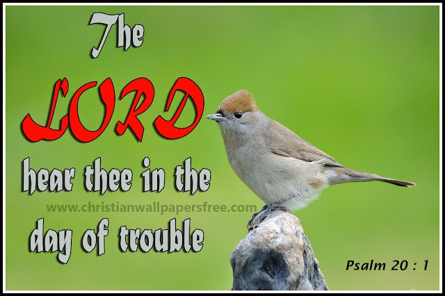 The Lord hear thee in the day of trouble