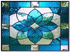 Stained GLASS WINDOW Film Art Deco