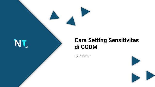 Cara Setting Sensitivitas di CODM