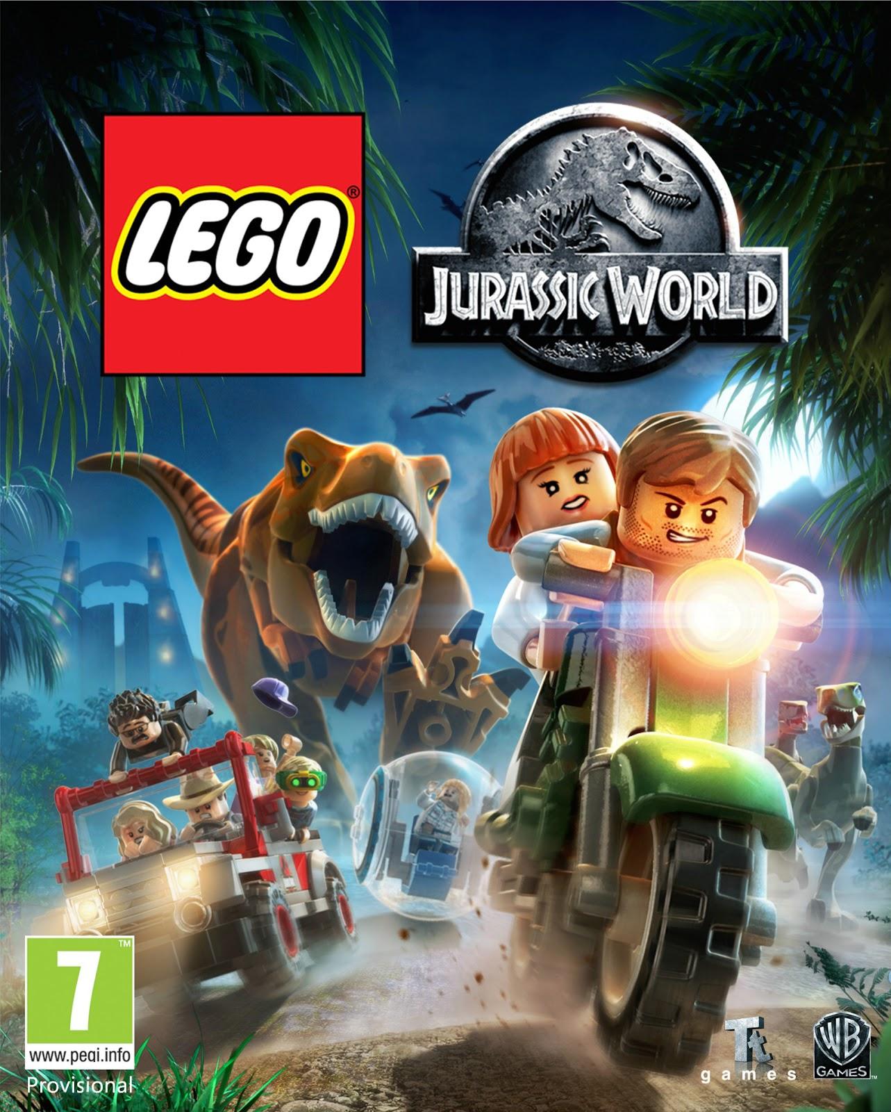 LEGO Jurassic World + DLC - Español - MEGA - ISO RELOADED - WinCracker