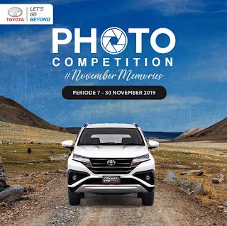 Lomba Foto Mobil Toyota Berhadiah Saldo OVO 250K per Repost
