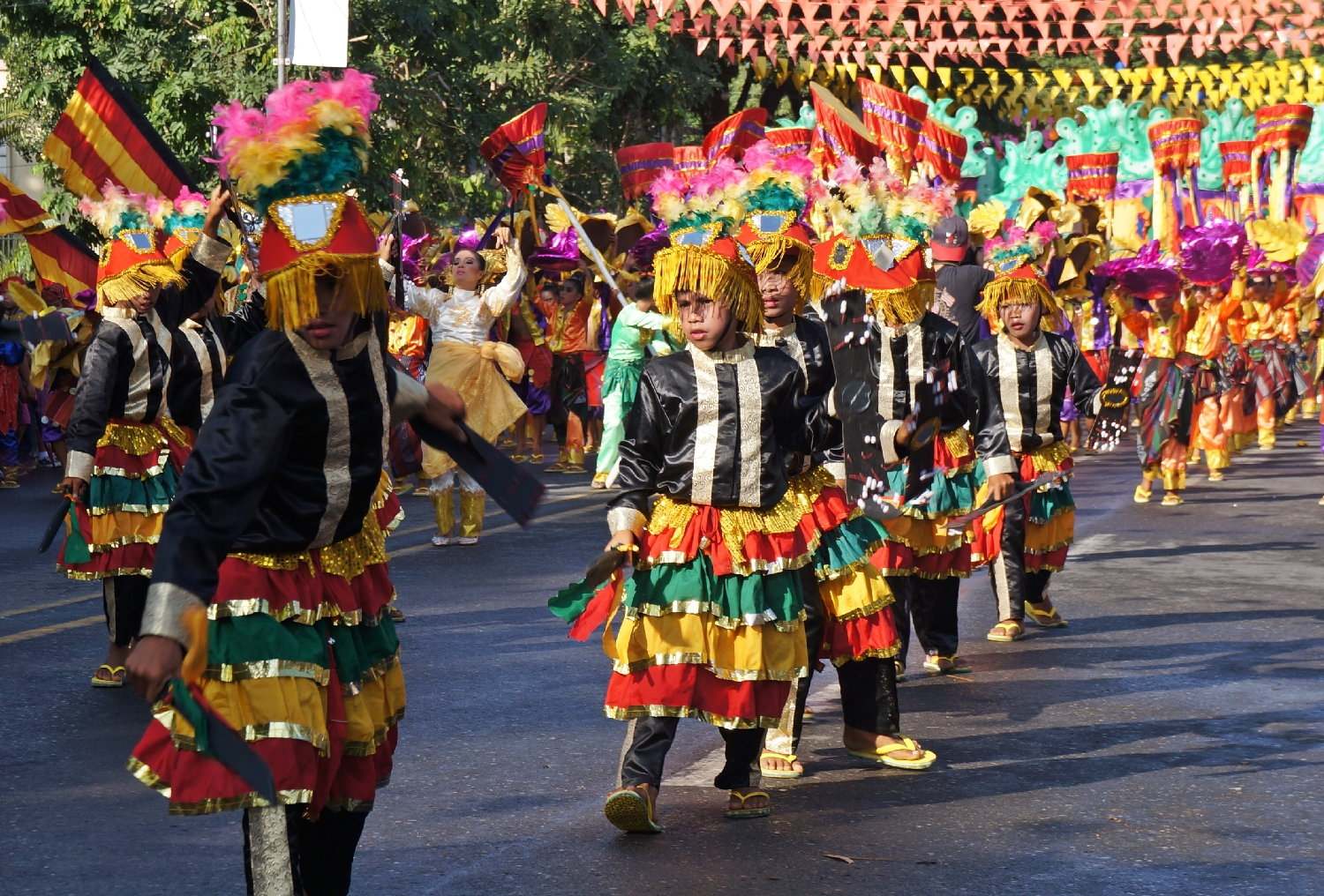 Tnalak Festival Street Dancing Competition is one of the most colorful in Mindanao