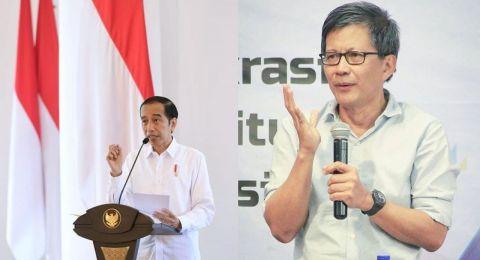 Rocky Gerung: UU ITE Buatan SBY Disalahgunakan Jokowi