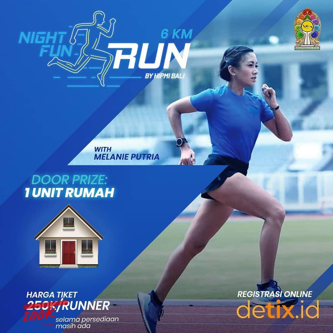 Night Fun Run - Hipmi Bali • 2019