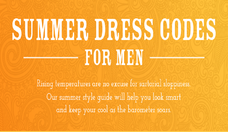 Summer dress codes – decoded in an #infographic