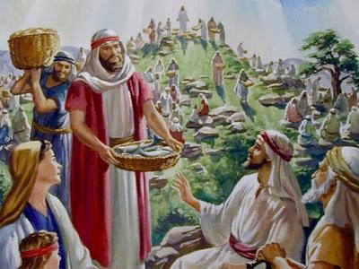 Yesus Memberi Makan Orang Banyak dan Yesus Memanggil Anak-Anak