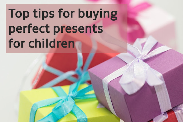 Tips for buying age appropriate gifts that children will love.