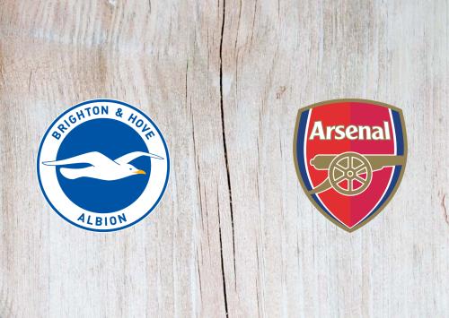 Brighton & Hove Albion vs Arsenal -Highlights 20 June 2020