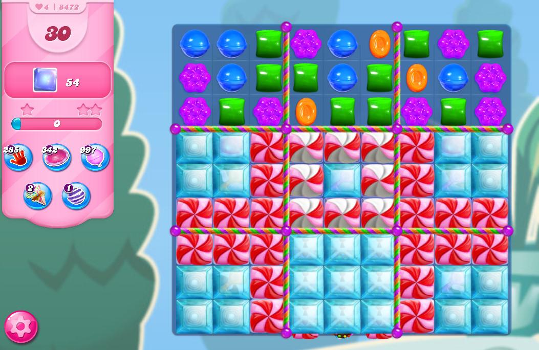 Candy Crush Saga level 8472