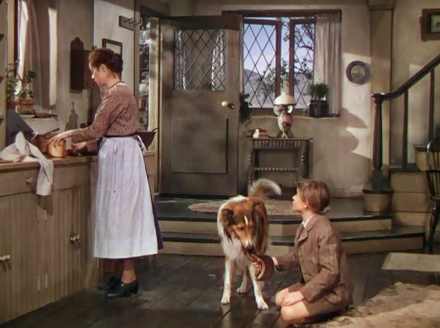 Tv movie set lassie come home 1943 silver scenes Classic home appliance films