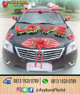 Dekorasi-Bunga-Kendaraan-Pengantin-Toko-Bunga-Bekasi