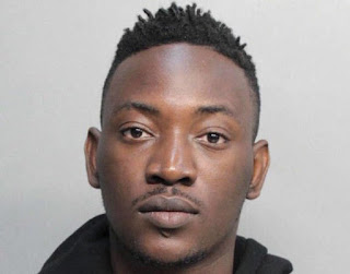 "A report in New Miami Times said seven fake credit cards were found in the pockets of Dammy Krane on 1 June when he was arrested at Opa-locka Executive Airport in Miami Dade, Florida.  The police have now slammed a nine count felony charge at Miami Dade's criminal court for credit card forgery and grand theft against the 23 year-old pop artist, whose real name is Oyindamola Emmanuel Johnson-Hunga.  Dammy Krane's trouble began after he used a bogus card to book a private jet flight to Washington, D.C., police said. When the police searched him, they found seven false credit cards in his wallet, according to the police report, details of which Miami New Times published today.  Agents from the mobile-phone booking app TapJets had called police, when they found that the first card Dammy Krane tendered was bogus. The jet company told Miami-Dade Police that Krane and a partner, Chukwuebuka Ilochonwu, had booked a $10,943 trip on a jet from Opa-locka to Washington, D.C.  Krane lists a permanent U.S. address in Baltimore on the police report, according to the report by Miami New Times.  Two MDPD officers staked out the jet runway until Krane and Ilochonwu showed up. Police searched the pair and found seven cards in Krane's pants pocket. When authorities checked the cards later, all seven had numbers on the face that didn't match the numbers on the security strip on the back.  MDPD says Krane used one of those cards to book his flight and then gave TapJet two other fake cards when he was asked for backup cards for the travel.  His co-defendant, Ilochonwu, police soon learned, was out on bond on four other credit card fraud charges.  He'd been arrested in April on felony charges stemming from a case in Miami Beach.  Dammy Krane who is now out on bail has tried to exculpate himself from the arrest mess, blaming ""agents"" and assuring fans he's innocent.  ""I do not partake in fraud,"" Krane says. ""I do not partake in such activities. Agents booked my flights with fraudulent cards.""  ""My life is all about my music, and that's what I'm all about,"" he says. ""I'm sorry I got caught up in this mess.""  The Benue-born Krane rose to fame five years ago on the success of his hit single ""My Dear,"" He became a major player in the Afropop scene, with a quarter-million followers on Twitter and regular chart-topping hits."