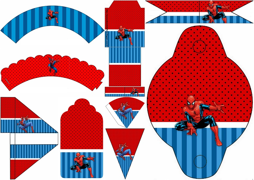 spiderman party free party printables
