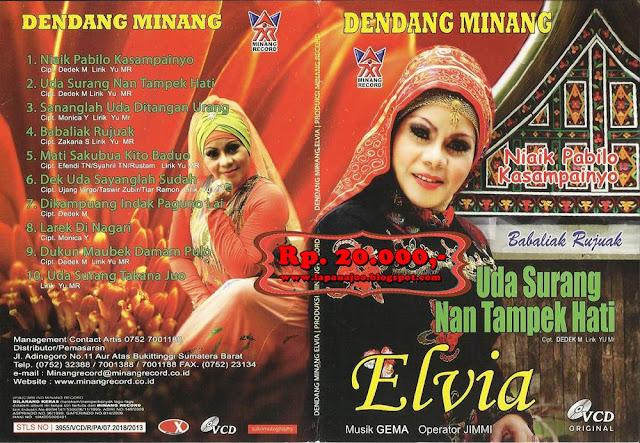 Elvia - Uda Surang Nan Tampek Hati (Album Dendang Minang)